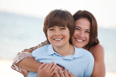 teen suffering dental infection dentist springfield